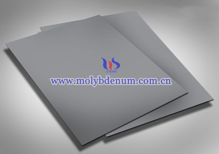cleaned molybdenum sheet image