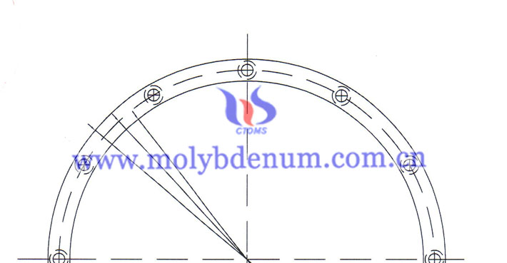 customized molybdenum plate image