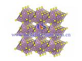 molybdenum sulfide structure image