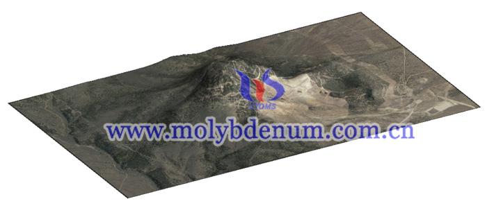 molybdenum mine image