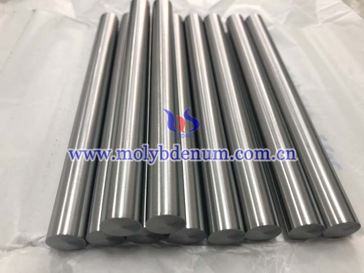 grounded molybdenum rod picture