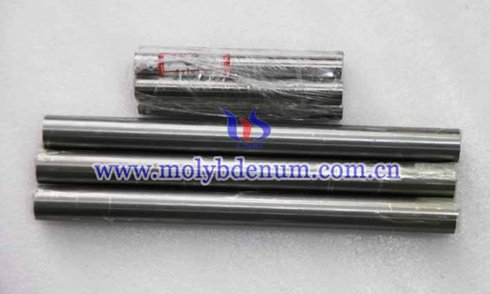 polished molybdenum rod picture